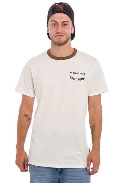 Volcom x Anti Hero Ringer T-Shirt (egg white)