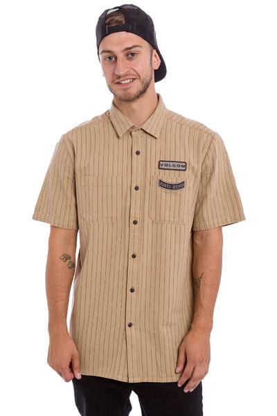 Volcom x Anti Hero Workshirt Hemd (gravel)