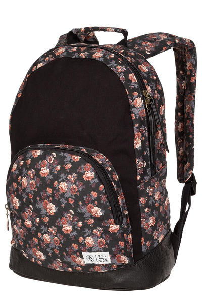 Volcom Schoolyard Canvas Backpack 19L women (black)