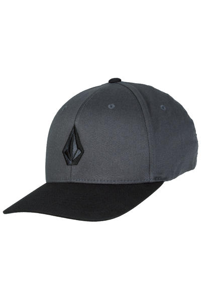 Volcom Full Stone XFit FlexFit Cap (asphalt black)