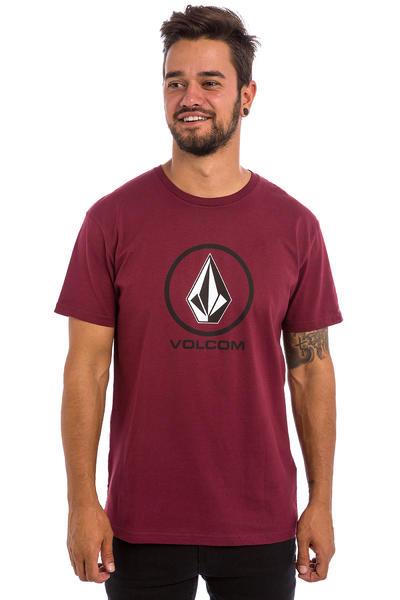 Volcom Circle Stone BSC T-Shirt (merlot)