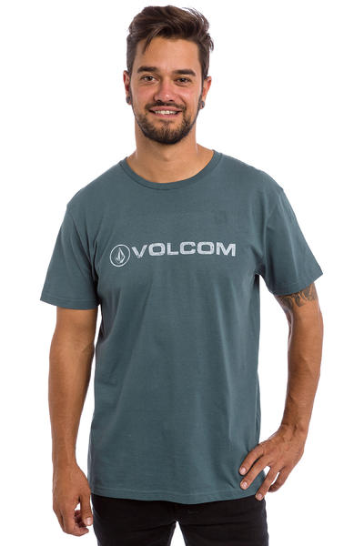 Volcom Euro Pencil BSC T-Shirt (airforce blue)