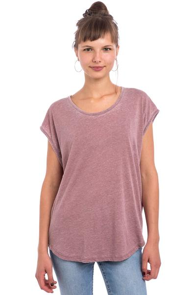 Volcom Simply Solid Circle T-Shirt women (crimson)