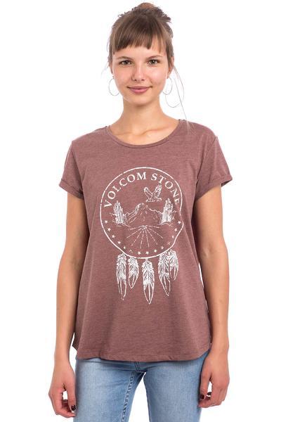 Volcom Hit The Road T-Shirt women (crimson)