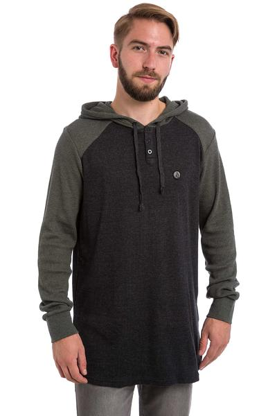 Volcom 3 Button Snow Hoodie (black olive)