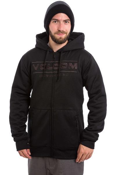 Volcom V Snow Sherpa Snow Zip-Hoodie (black)