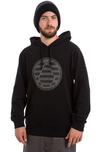 Volcom Striped Stone Snow Hoodie (black)