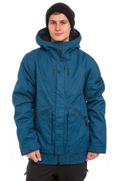 Volcom Beta Insulated Snowboard Jacke (blue black)