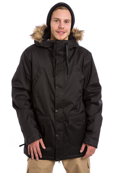Volcom Midtown Insulated Chaqueta Snow (black)