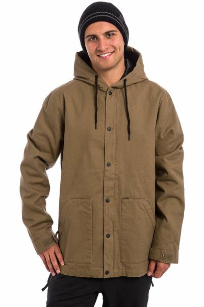 Volcom DD Insulated Work Snowboard Jacket (teak)