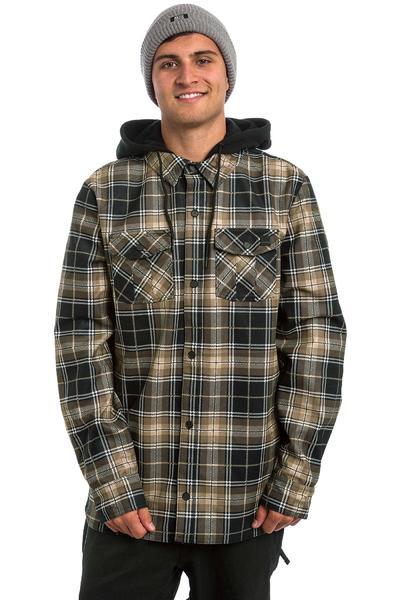 Volcom Field Bonded Flannel Snowboard Jacke (teak)