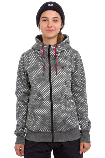 Volcom Stone Dot Snow Zip-Hoodie women (black)