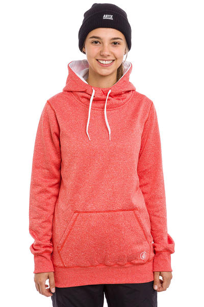 Volcom Yerba Snow Hoodie women (fire red)