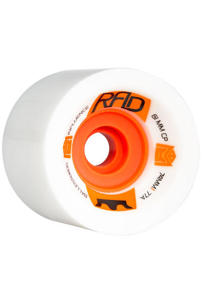 R.A.D. Influence 74mm 77A Rollen (white) 4er Pack