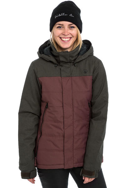 Volcom Vaycay Insulated Snowboard Jacket women (burgundy)