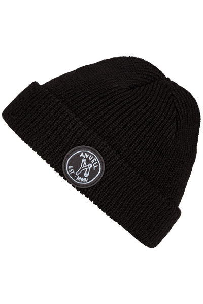 Anuell Broden Mütze (black)
