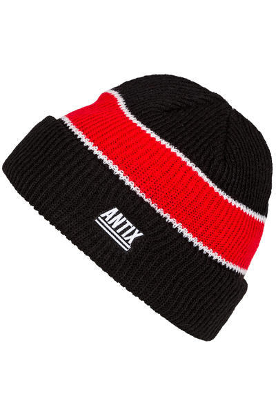 Antix Nostra Beanie (black red white)
