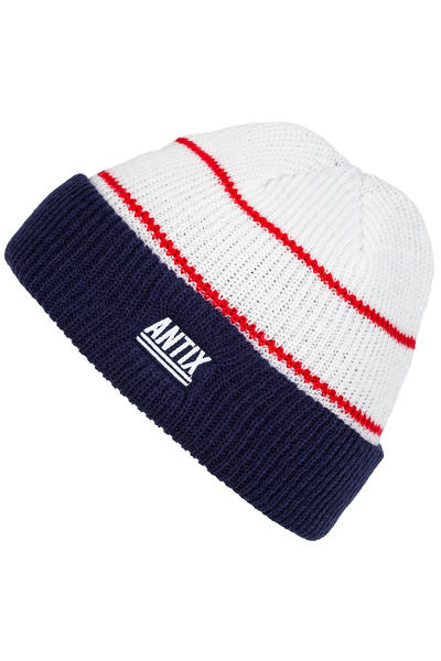 Antix Nostra Beanie (white blue red)