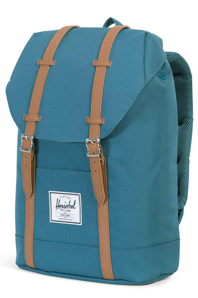 Herschel Retreat Rucksack 19,5L (indian teal tan)