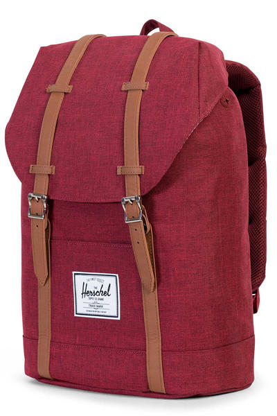 Herschel Retreat Rucksack 19,5L (winetasting crosshatch tan)