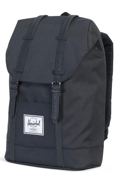 Herschel Retreat Rucksack 19,5L (black black)