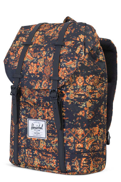 Herschel Retreat Rucksack 19,5L (century black rubber)