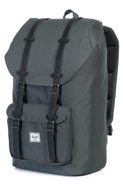 Herschel Little America Backpack 25L (dark shadow black)