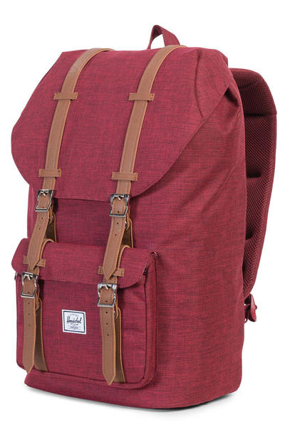 Herschel Little America Backpack 25L (winetasting crosshatch tan)