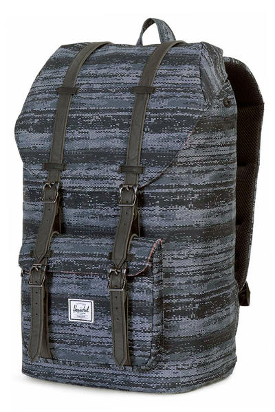 Herschel Little America Rucksack 25L (white noise black)