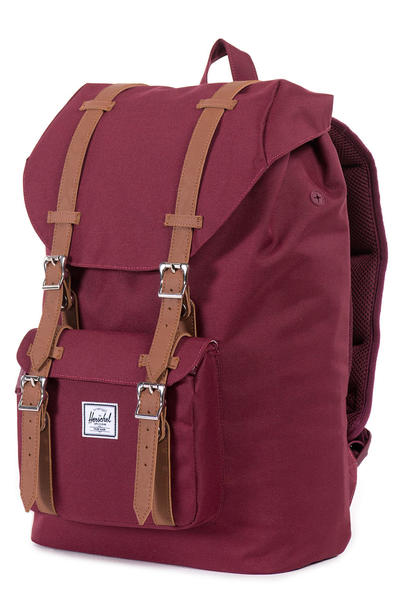 Herschel Little America Mid Rucksack 17L (windsor wine tan)