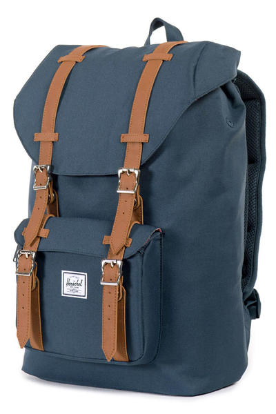 Herschel Little America Mid Backpack 17L (navy tan)