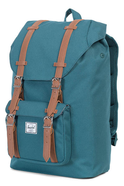 Herschel Little America Mid Backpack 17L (indian teal tan)