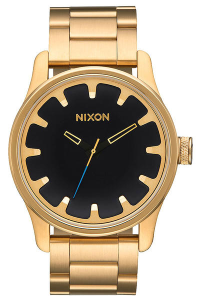 Nixon The Driver Uhr (all gold black)