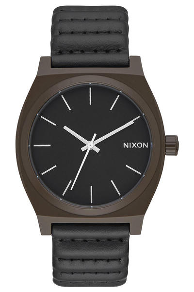 Nixon The Time Teller Watch (bronze black)