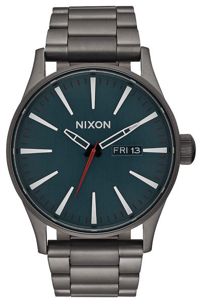 Nixon The Sentry SS Uhr (all gunmetal dark blue)