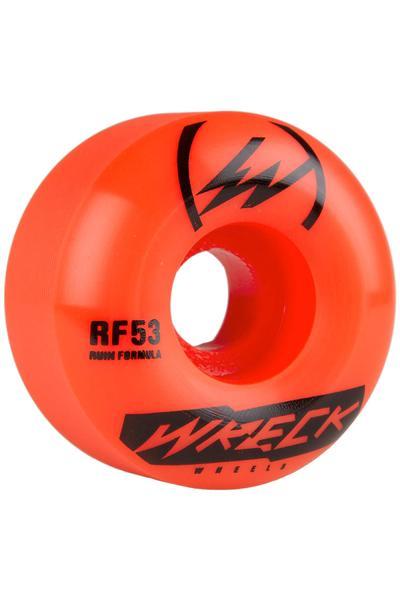 Wreck W2 53mm Rollen (orange) 4er Pack