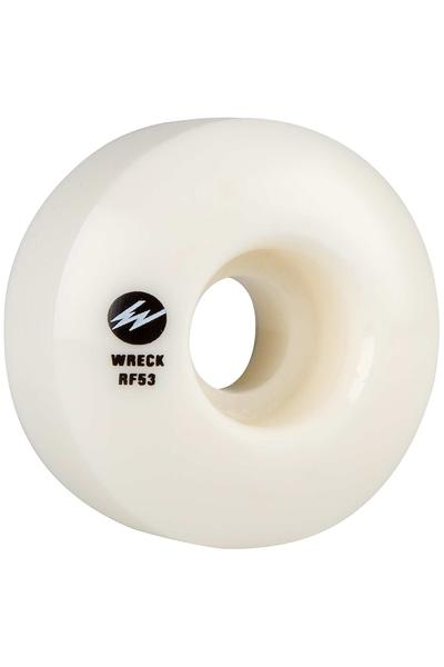 Wreck W3 53mm Roue (white) 4 Pack