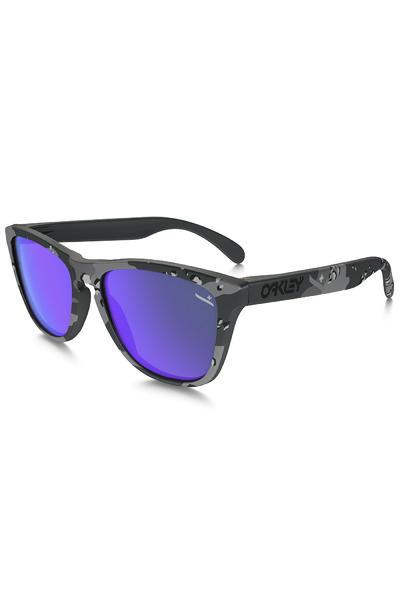 Oakley Frogskin Sonnenbrille (matte camo carbon violet iridium)