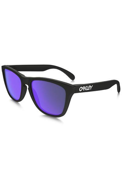 Oakley Frogskin Sunglasses (matte black violet iridium)