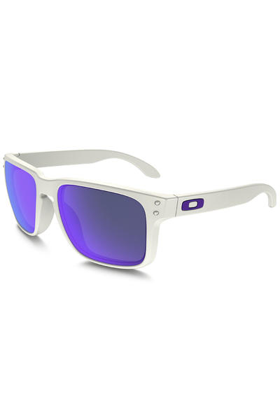 Oakley Holbrook Sonnenbrille (matte white violet iridium)