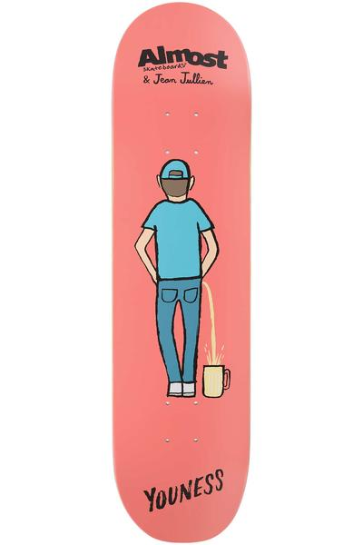 "Almost x Jean Jullien Amrani 8"" Deck (red)"