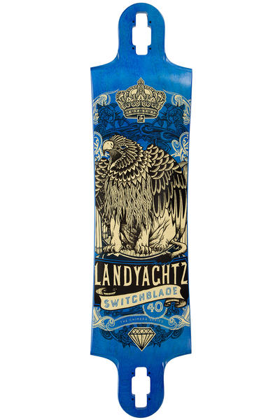 "Landyachtz Switchblade Maple Eagle Lion 40"" (101,6cm) Longboard Deck 2016"
