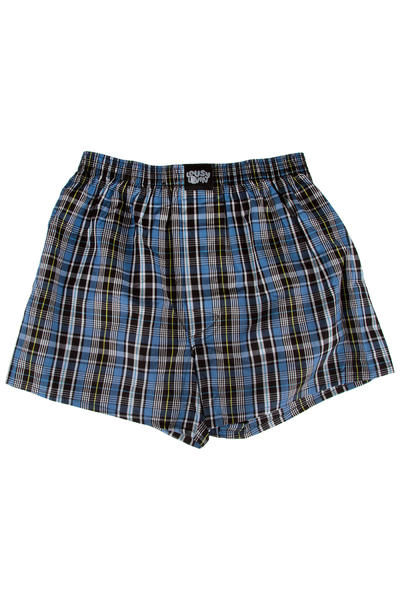 Lousy Livin Underwear Check Boxershorts (captains blue)