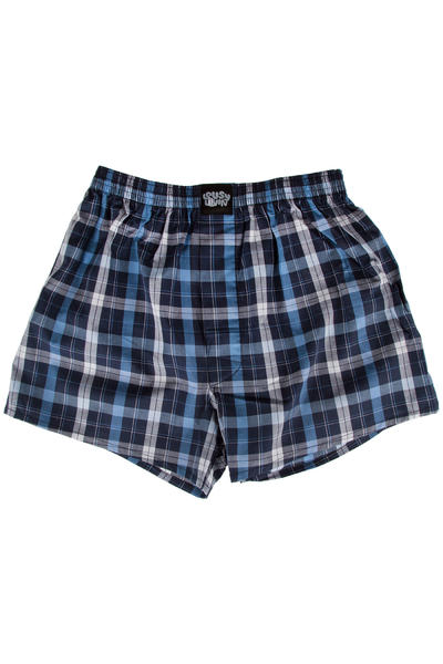 Lousy Livin Underwear Check Boxershorts (clematis blue)