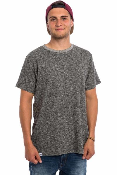 REELL Curved T-Shirt (dark grey melange)