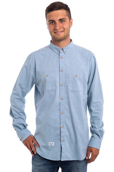 REELL Nordic Camisa (light blue)