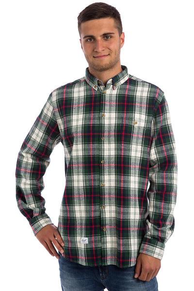 REELL Checks Shirt (green white)