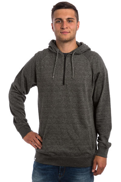 REELL Quarter Zip-Hoodie (anthracite grey)