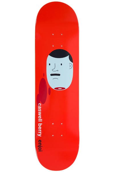 "Enjoi x Jim Houser Berry 8.25"" Deck (red)"