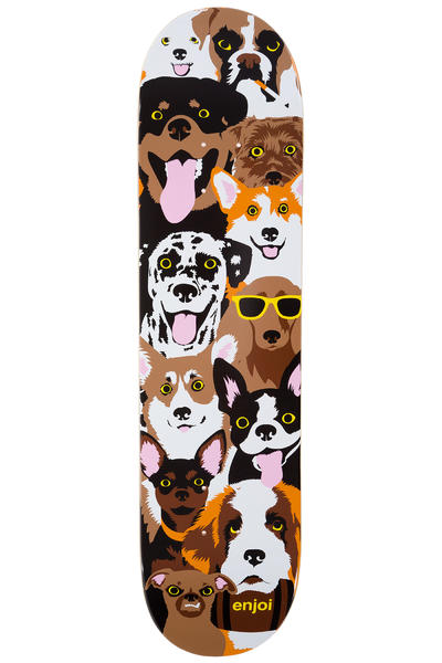 "Enjoi Dog Collage 7.75"" Deck (multi)"